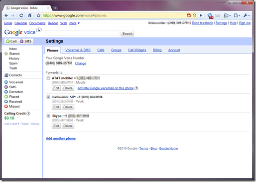 google-voice-routing