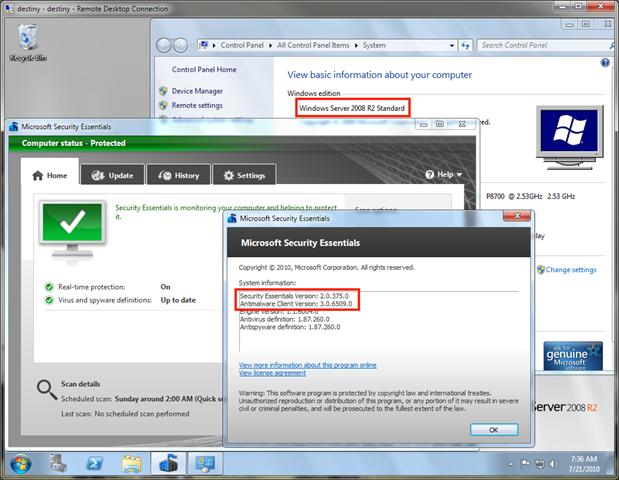 INSTALLING SQL SERVER in Windows XP - Server Fault