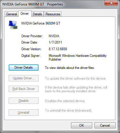 Updating windows drivers in boot camp