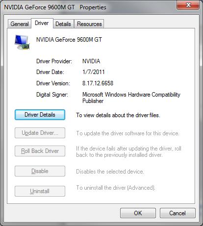 NVIDIA P729 DRIVER