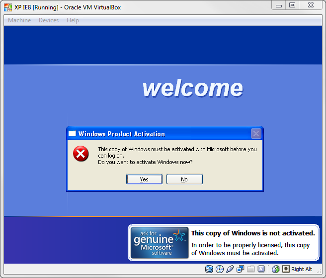 Fail Useless Ie8 Compatibility Vm Brian Reiter S