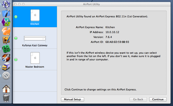 AirPort Utility 5 6 1 on Mavericks
